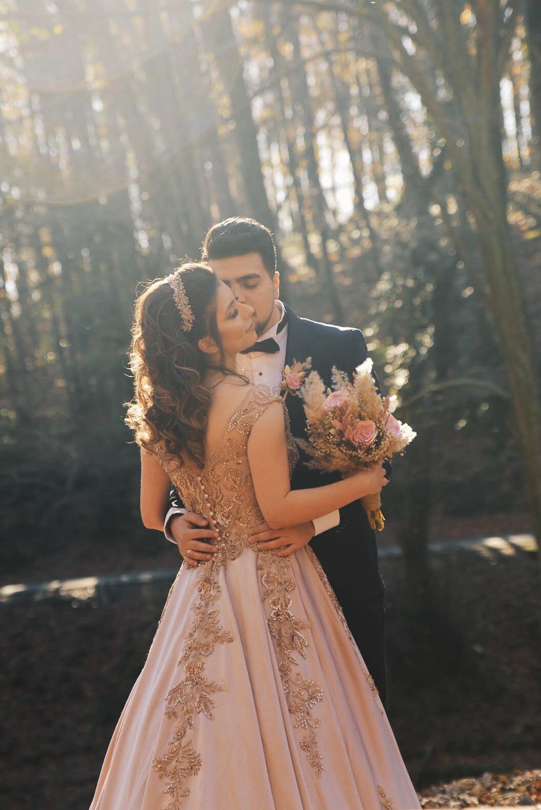 Belgrat ormani düğün nişan fotoğraf çekimi