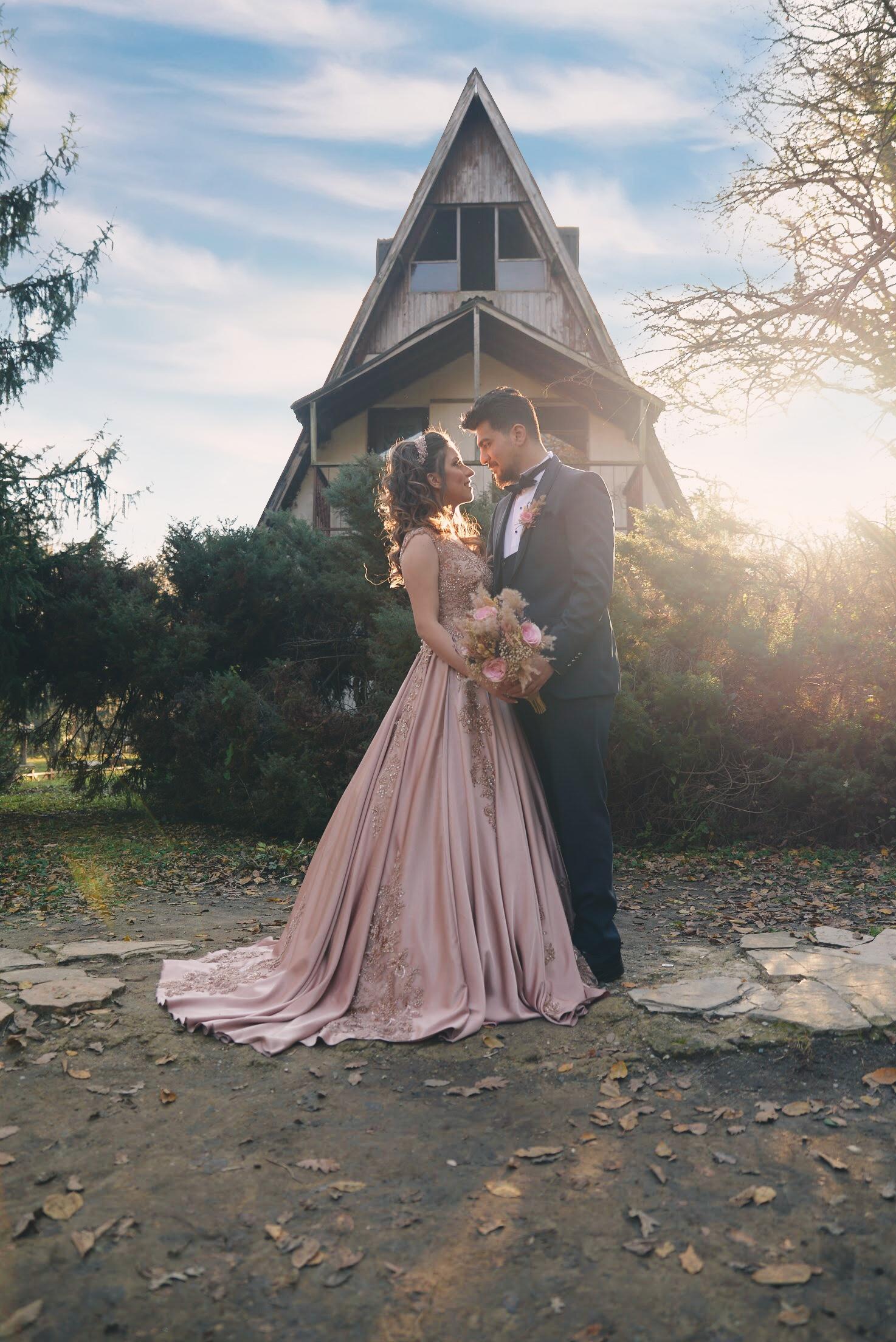 Belgrat ormanı nişan Düğün fotograf çekimi