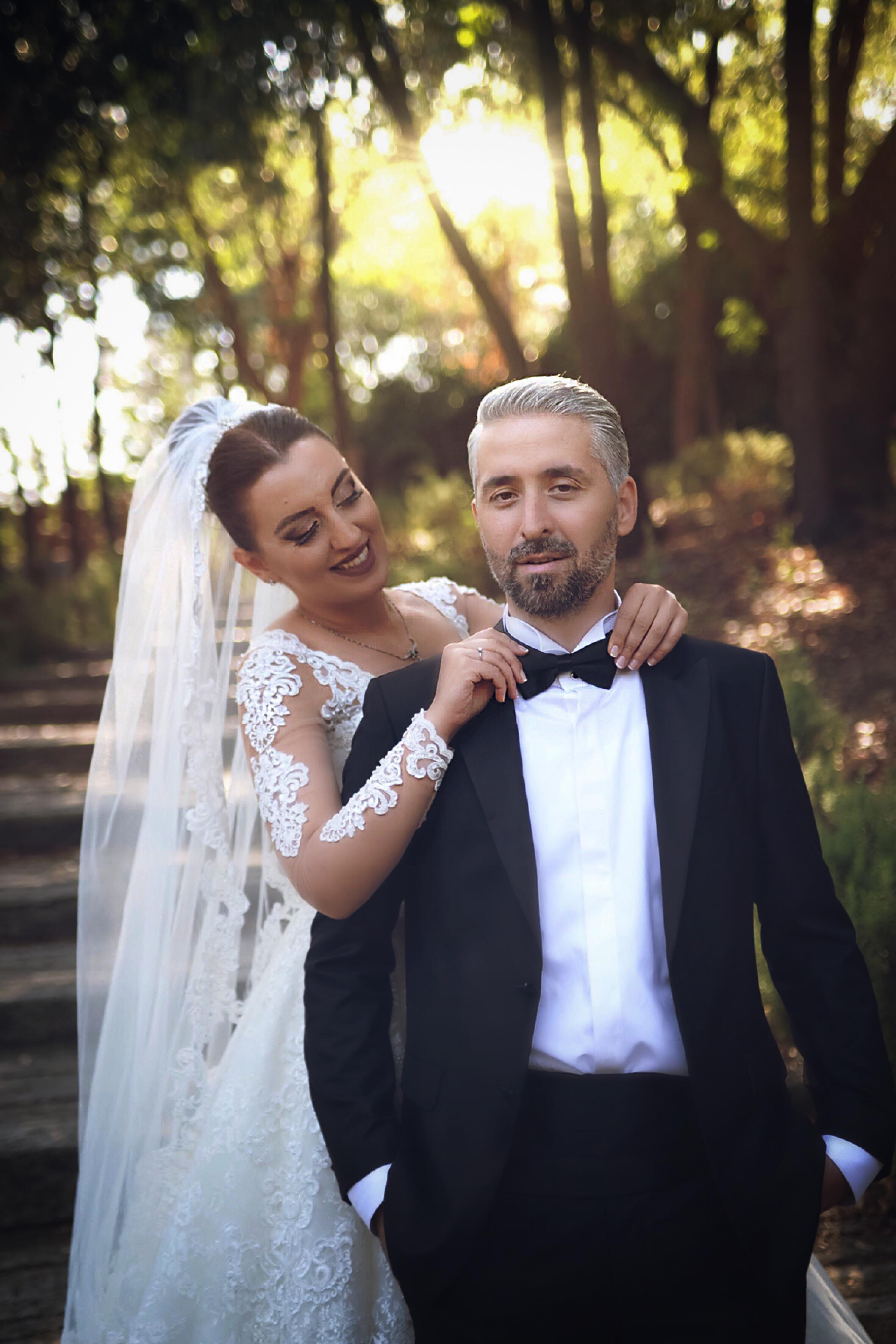 Yildiz parki düğün fotoğraf çekimi
