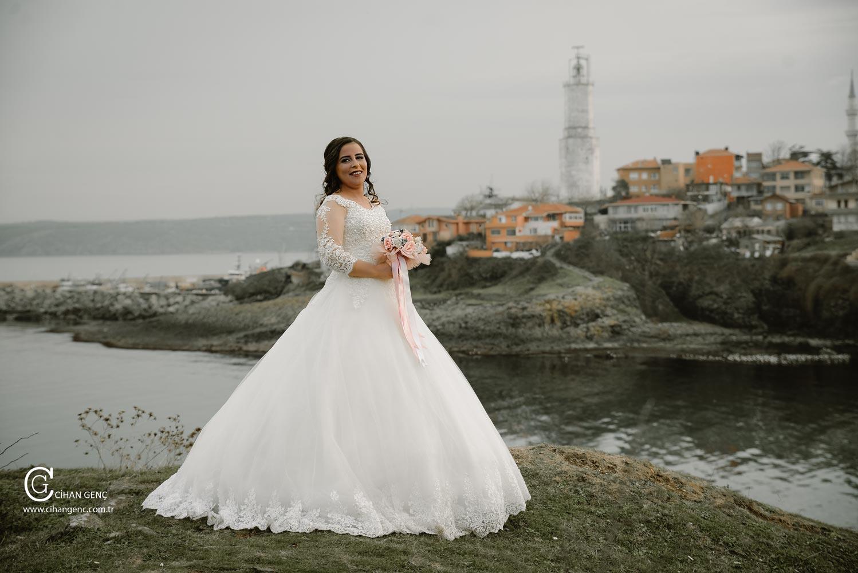 RUMELİ FENERİ Sahil boğaz düğün nişan fotoğraf çekimi