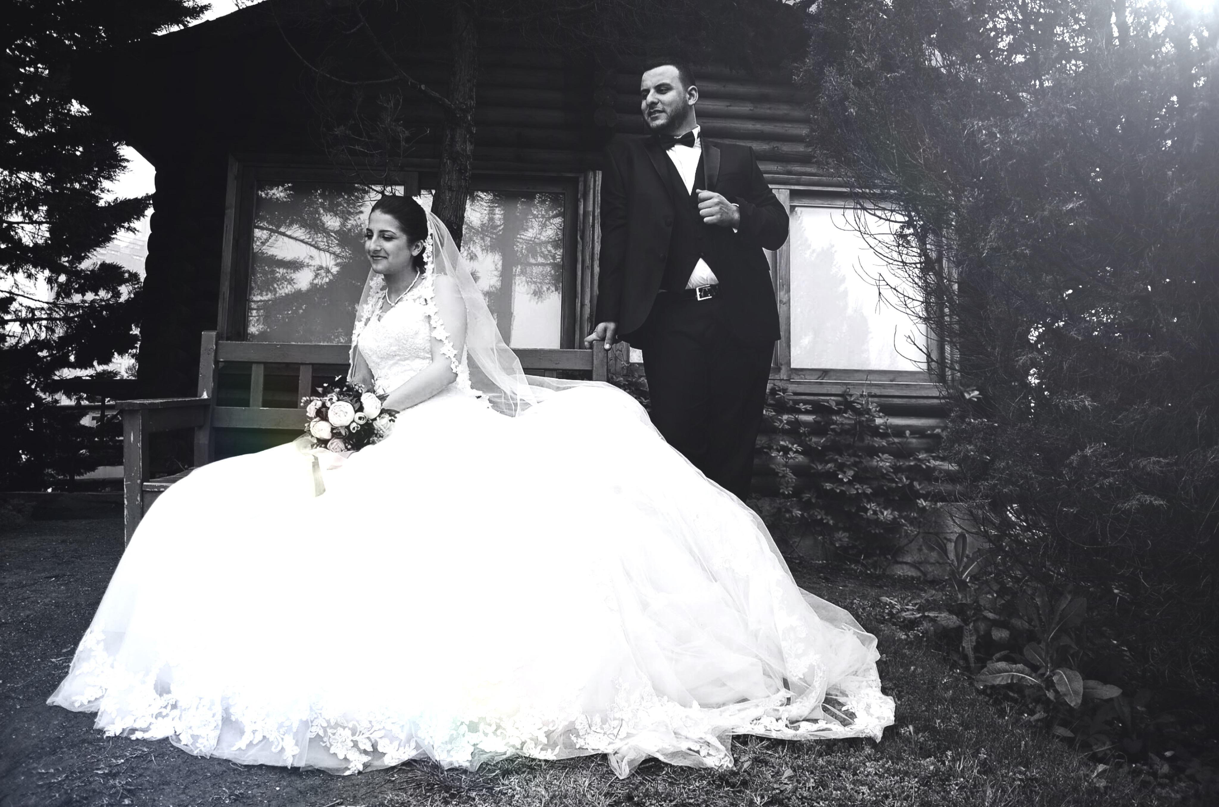 Ataşehir botanik park düğün fotoğraf çekimi