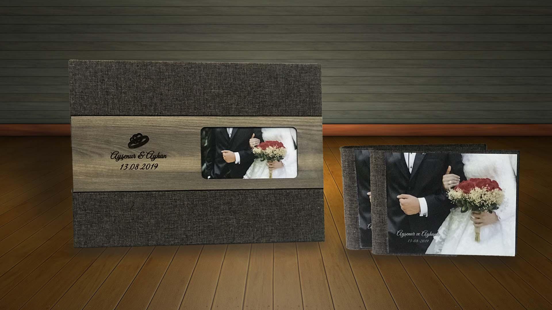 panaromik düğün nişan albümü