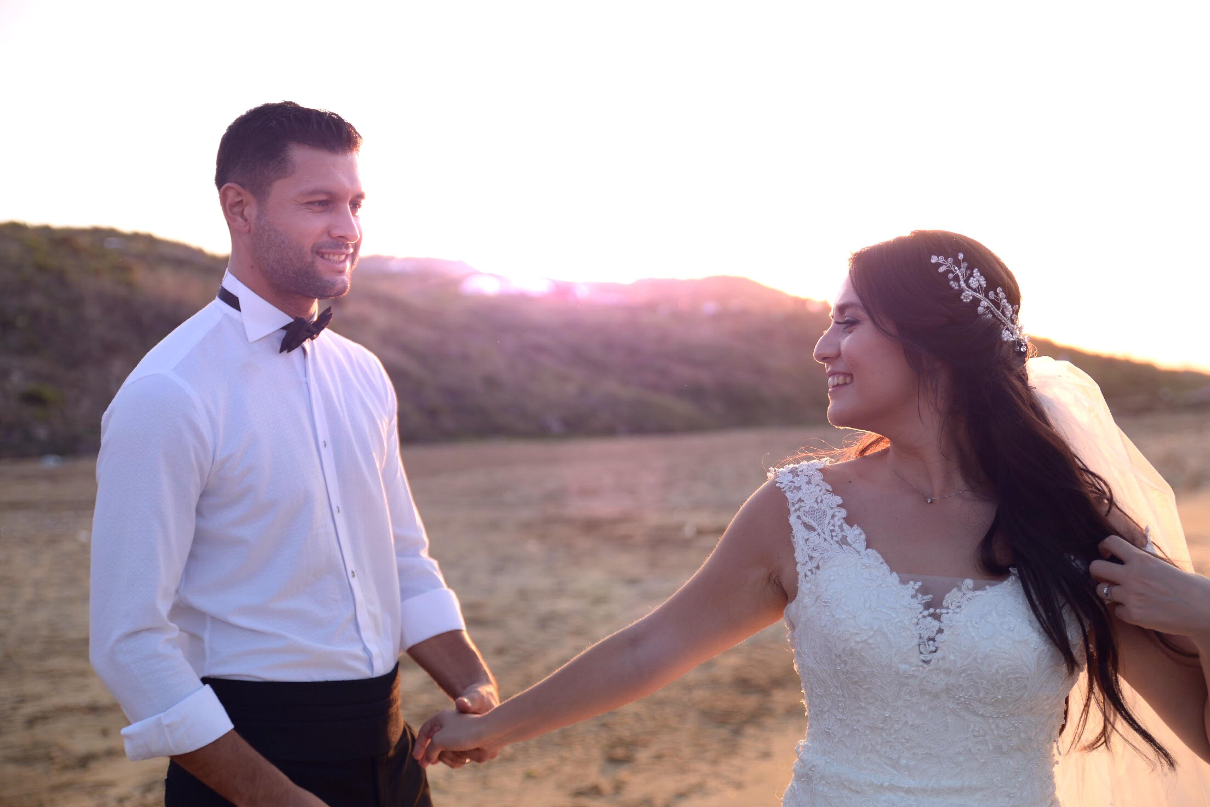 Kilyos sahil düğün fotoğraf çekimi