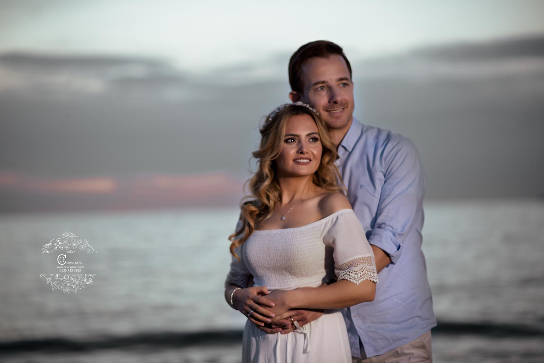 Sahil kumsal düğün fotoğraf çekimi düğün fotoğrafçısı