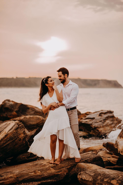 Sahil kumsal düğün fotoğraf çekimi düğün fotoğrafçisi