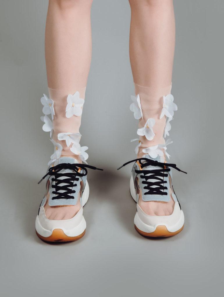 Çorap tekstil fotoğraf çekimi