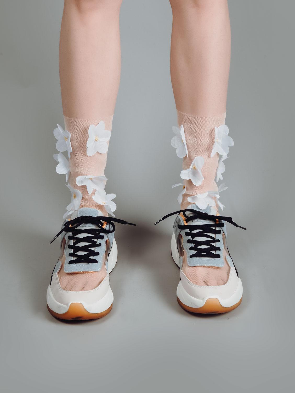 mankenli çorap çekimi