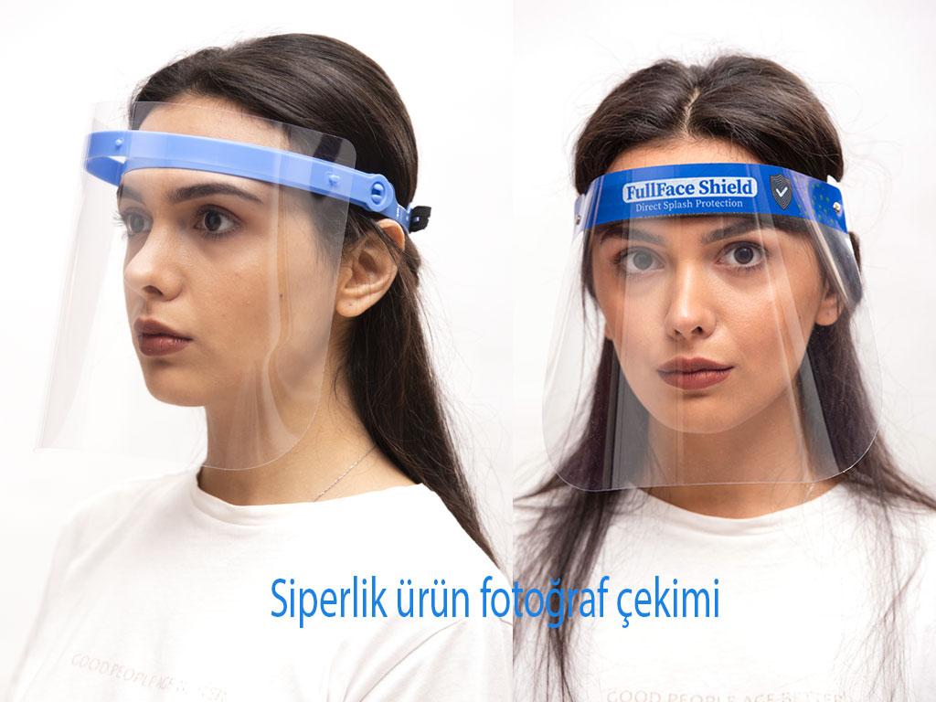 siperlik maske ürün fotoğraf çekimi