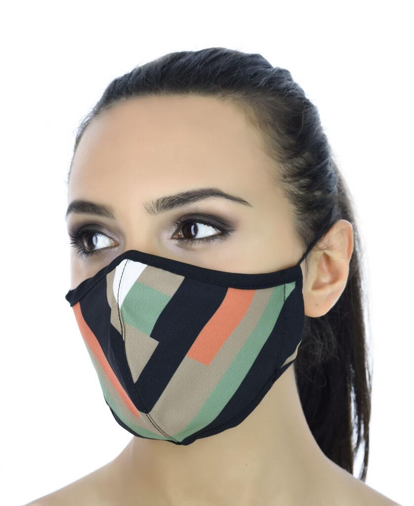 Koruyucu maske ürün fotoğraf çekimi