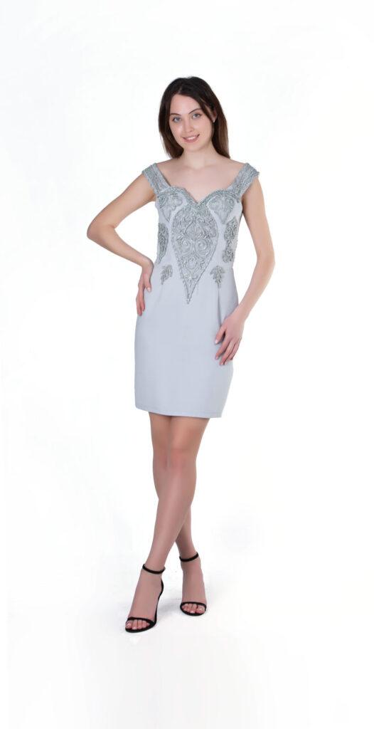 Abiye elbise tekstil fotoğraf çekimi