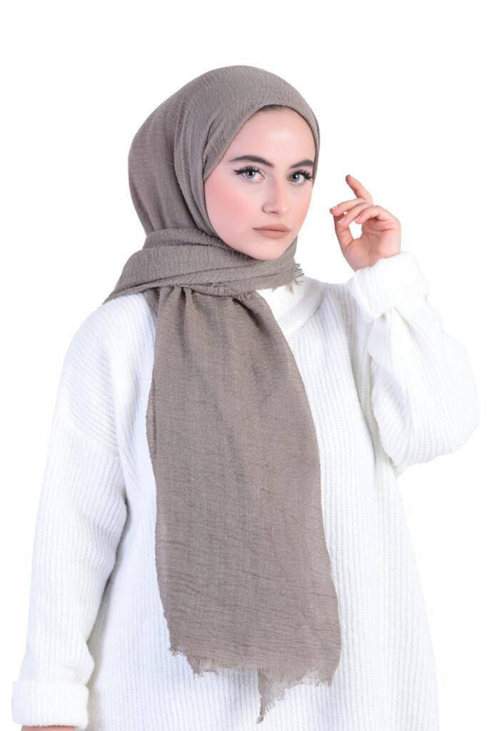 Tesettür tekstil Elbise  şal fotoğraf çekimi
